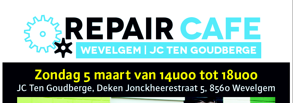 Repair cafe wevelgem 5/3/2017